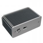 Fanless case for Intel NUC (D33217GKE and DCP847SKE)